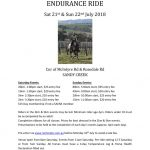 thumbnail of Sandy Creek Ride Flyer