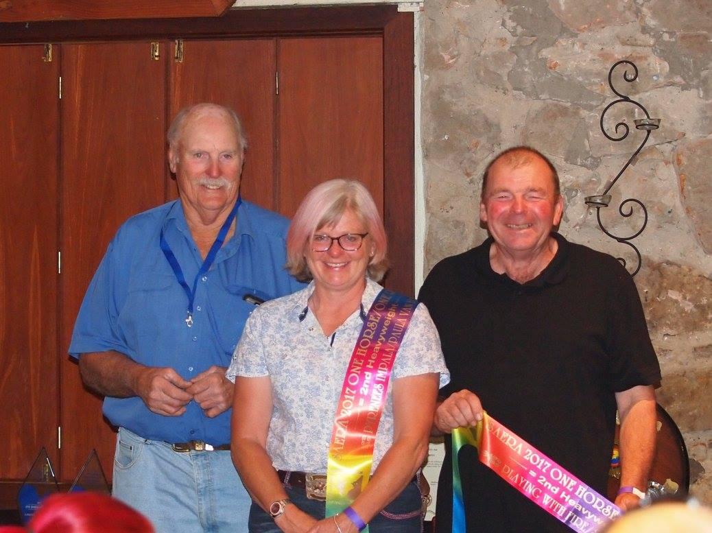 d Steve Ellis and Melanie for Paula Van Eck Hwt=2nd Distance Horse and Distance Rider
