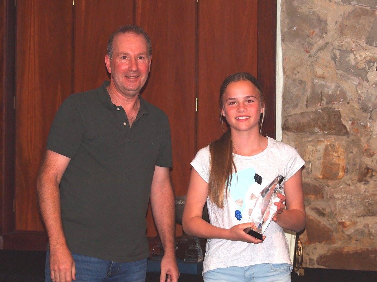 v Imogen Raidis for Coolinda Park Kalico Almazaan Junior Trophy